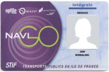 Zwrot kosztów biletu Navigo dla uczniów-stażystów