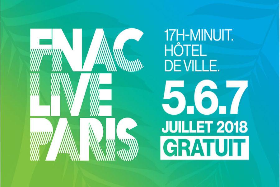 Festiwal muzyczny Fnac Live w Paryżu