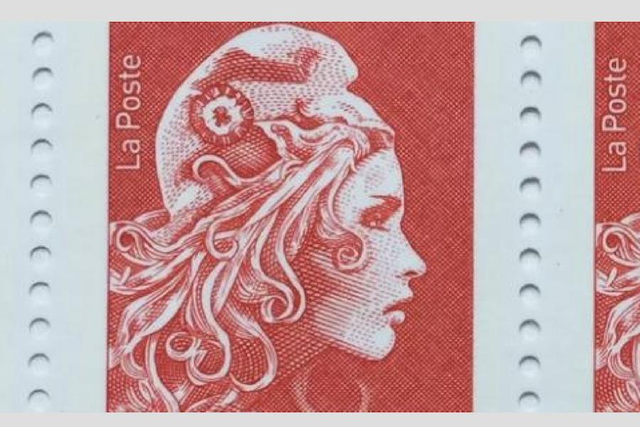 Nowa Marianna na francuskich znaczkach pocztowych