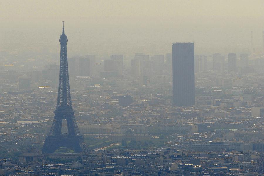 Zanieczyszczenie powietrza: Od jutra ograniczenia w ruchu kołowym w Paryżu i jego regionie