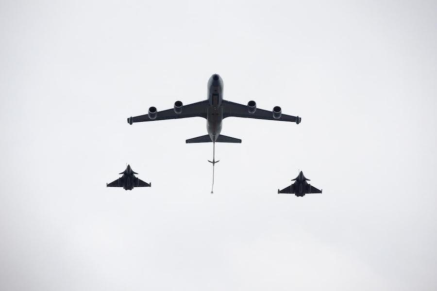 Próba generalna parady lotniczej