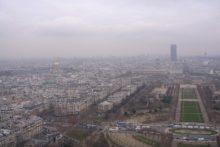 Wysokie zanieczyszczenie powietrza w Paryżu