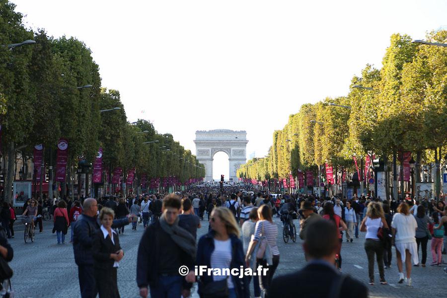 4. edycja dnia bez samochodu w Paryżu
