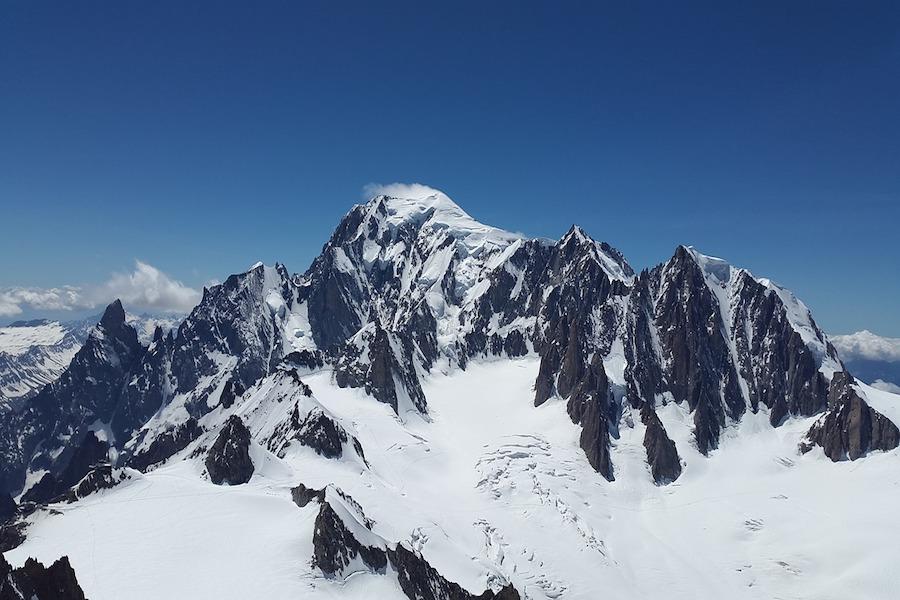 """Mont Blanc """"skurczył się"""" o 92 cm w ciągu 4 lat"""