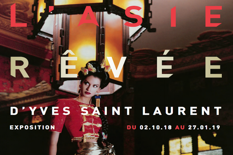 Wyśniona Azja – wystawa Yves Saint Laurent w Paryżu