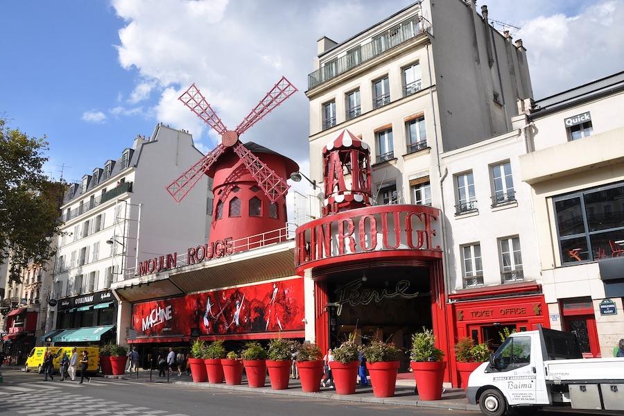 Najsłynniejszekabarety w Paryżu