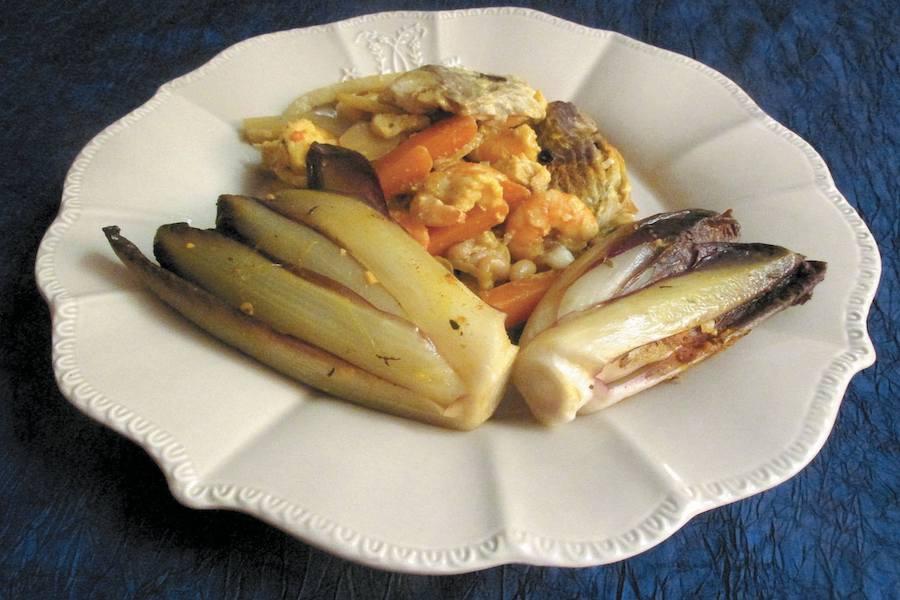 Cykoria, ryby i flamandzka kuchnia