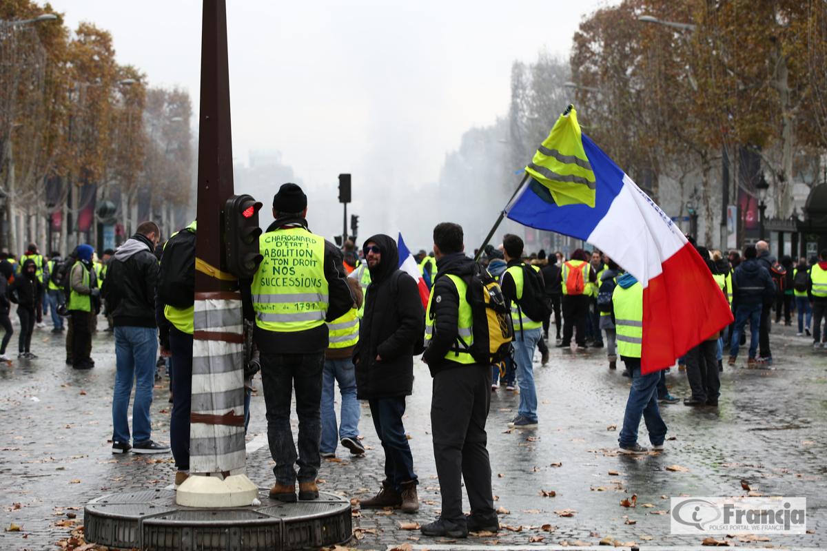 """Protest """"żółtych kamizelek"""": Propozycje premiera Edouarda Philippe'a"""