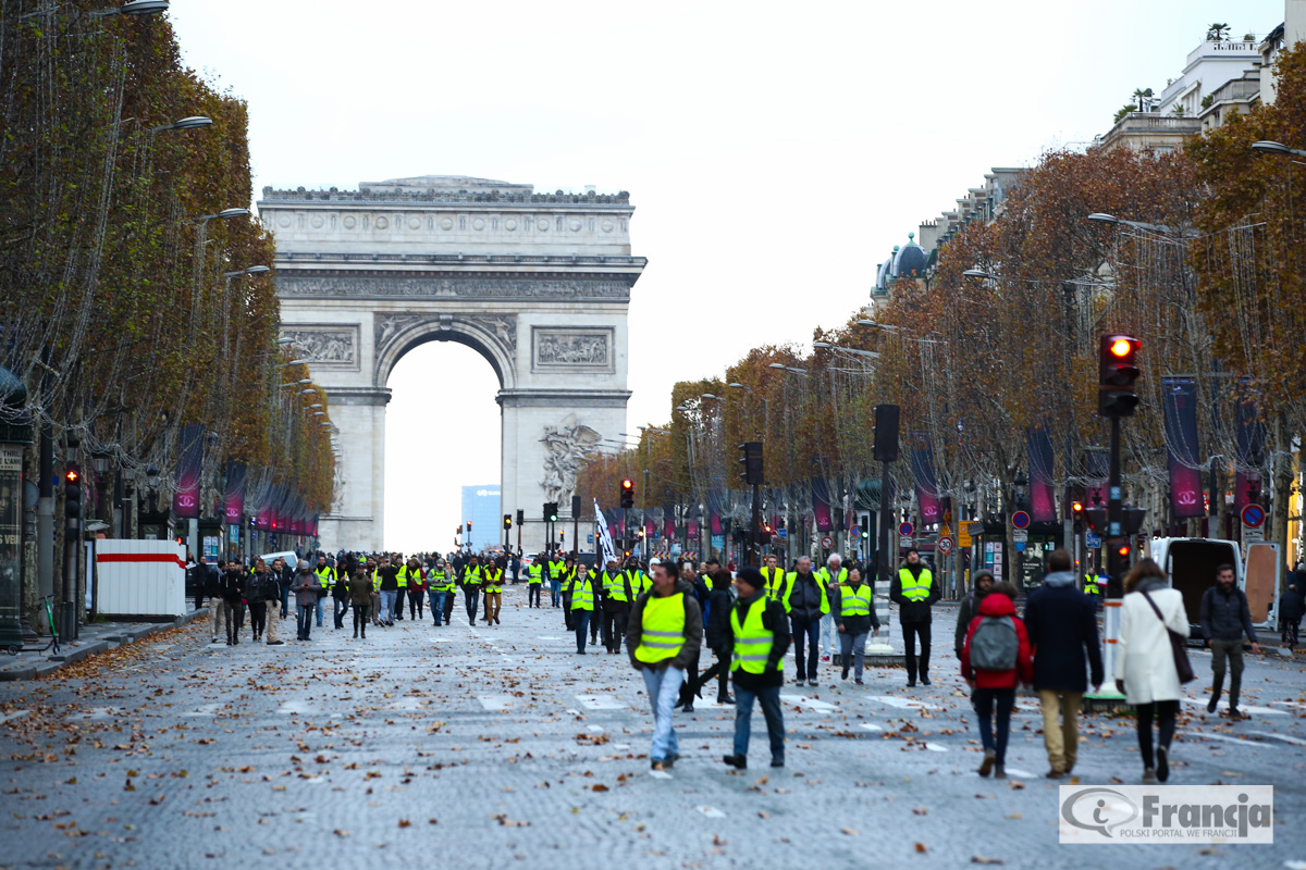 """Roszczenia """"żółtych kamizelek"""" – Zapowiedź kolejnej manifestacji w Paryżu"""