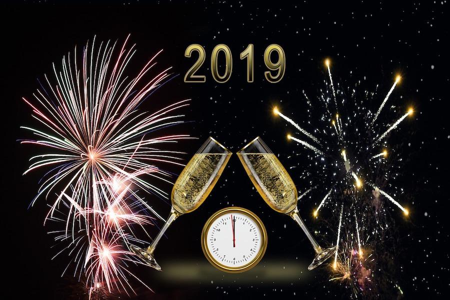 Szczęśliwego Nowego Roku 2019!