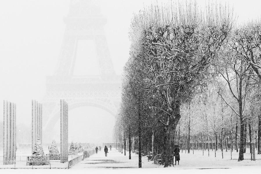 Meteo France zapowiada opady śniegu na jutro i pojutrze!