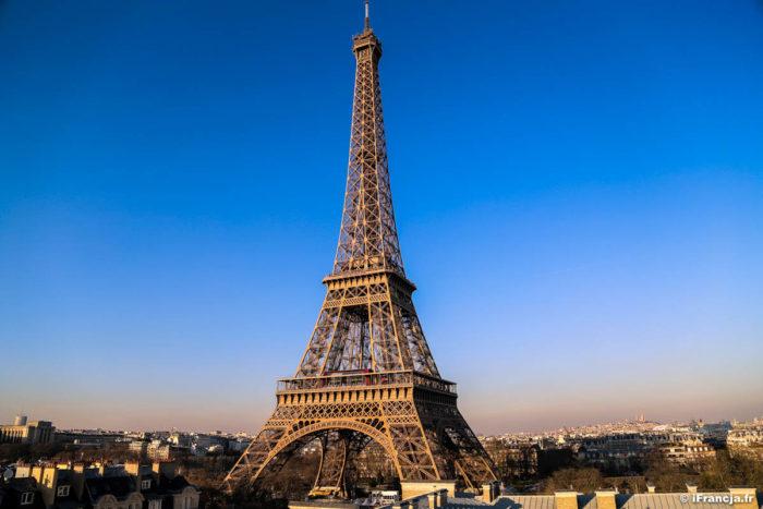 Wieża Eiffla zmieni kolor przed Igrzyskami Olimpijskimi w 2024 roku