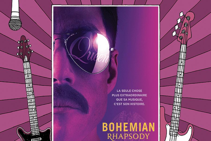 """Kino-karaoké """"Bohemian Rhapsody"""" w Le Grand Rex w Paryżu"""