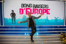 """Fotorelacja z planu programu """"Bons baisers d'Europe"""" z Michalem Kwiatkowskim"""