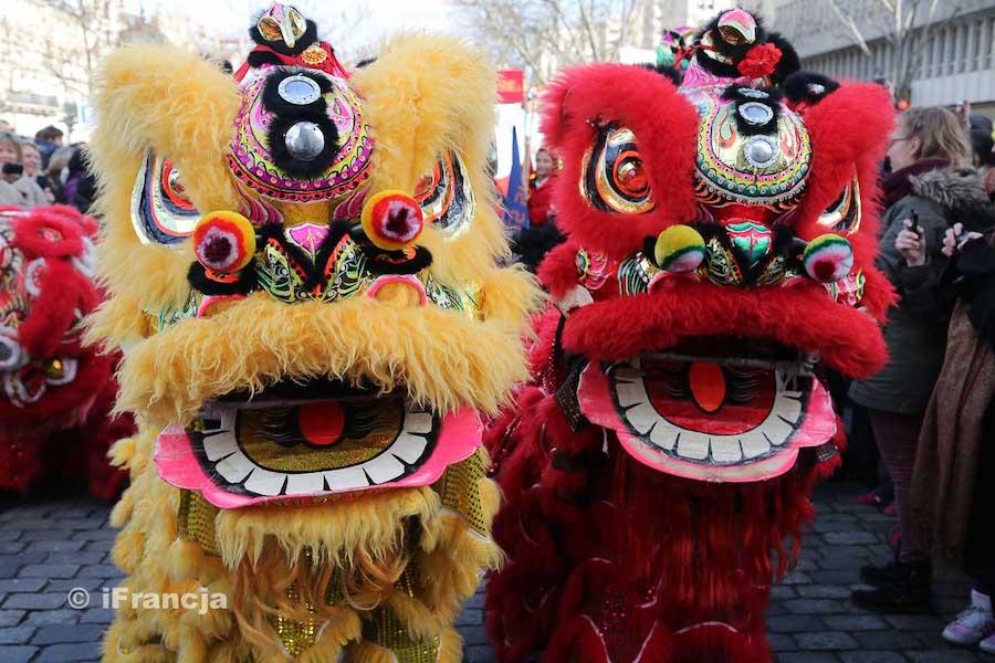Obchody chińskiego Nowego Roku w Paryżu