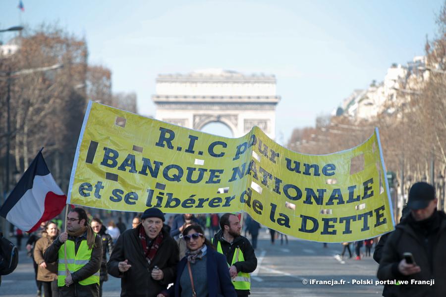 """Manifestacje """"żółtych kamizelek"""" – akt XIV"""