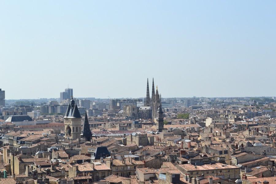 Trzęsienie ziemi koło miasta Bordeaux