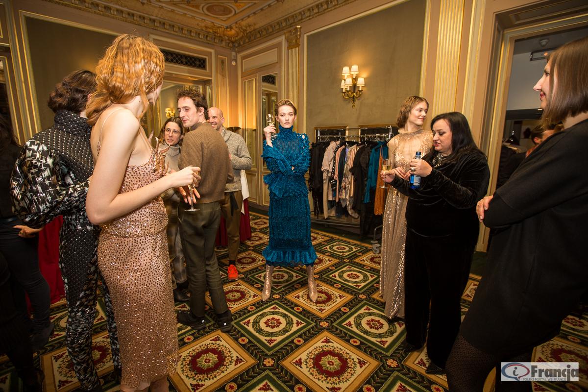 Gosia Baczyńska podczas Tygodnia mody w Paryżu
