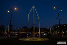 Inauguracja fontann na Polach Elizejskich