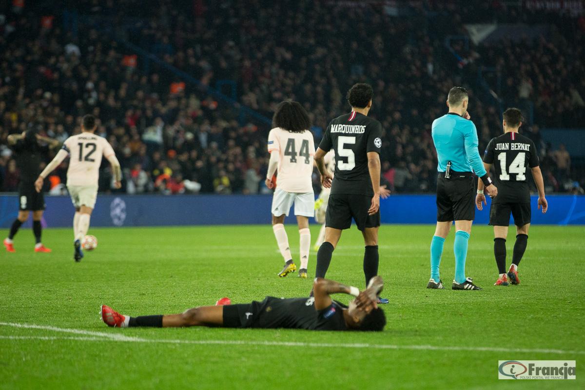 Liga Mistrzów: Paris Saint-Germain – Manchester United