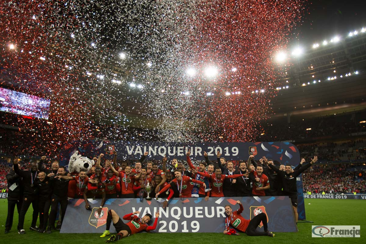 Finał Pucharu Francji: Rennes – PSG