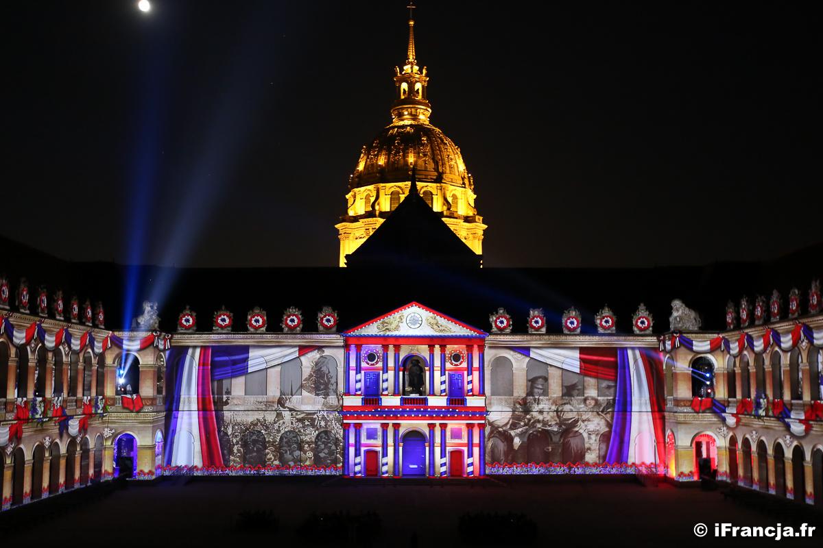Lutecja, trzy tysiące lat historii – pokaz video mappingu w Pałacu Inwalidów