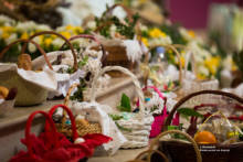 Święcenie pokarmów w polskim kościele w Paryżu (Fotoreportaż)