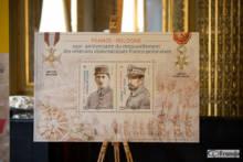 Znaczki pocztowe na 100. rocznicę odnowienia stosunków dyplomatycznych między Polską a Francją