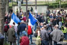 Manifestacje pierwszomajowe. Zamieszki w Paryżu