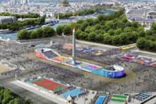 Dzień Olimpijski na placu Zgody w Paryżu