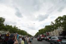 Próba generalna defilady lotniczej w Paryżu