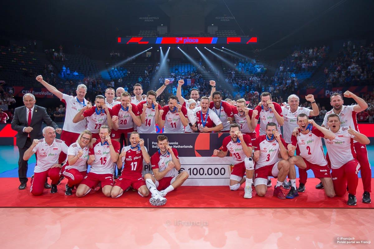 Mistrzostwa Europy siatkarzy 2019 – Francja:Polska – Fotoreportaż