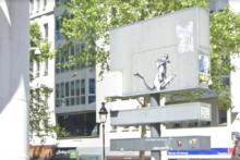 Skradziono kolejne dzieło Banksy'ego