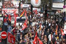 Strajk komunikacji miejskiej w Paryżu