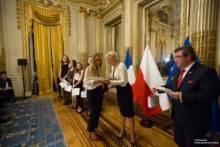 Maturzyści w Pałacu Monako