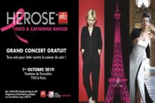 Różowy październik: wieża Eiffla oświetlona na różowo i darmowe koncerty