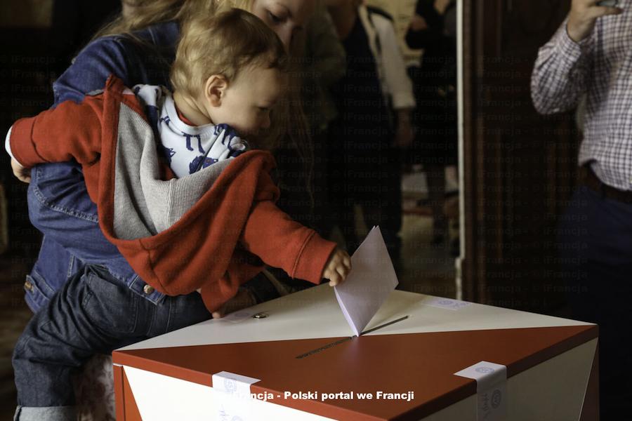 Liczba wyborców zarejestrowanych we Francji w wyborach do Senatu i Sejmu RP
