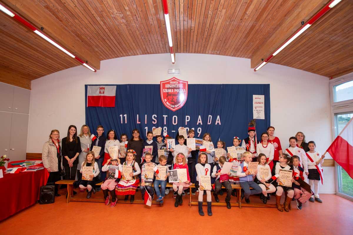 Konkurs recytatorski połączony z obchodami Święta 11 listopada