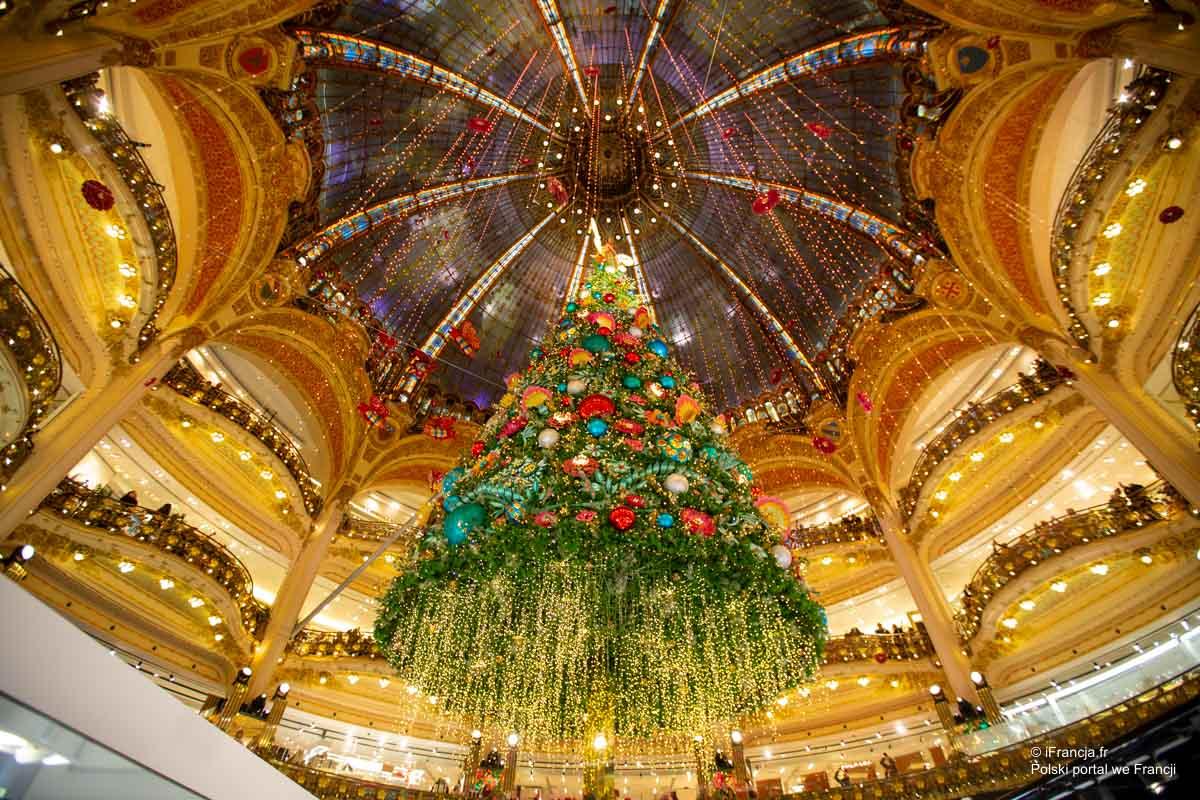 Święta już też w Galeriach Lafayette