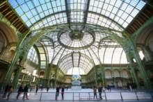 Lodowisko w Grand Palais w Paryżu