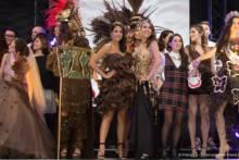 Pokaz mody podczas Targów Czekolady 2019 w Paryżu