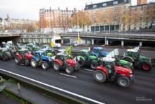 Protest rolników: 1000 ciągników przybędzie do Paryża w najbliższą środę