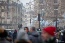 5 grudnia 2019 – Pierwszy dzień strajku przeciwko reformie emerytalnej