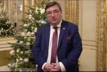 Świąteczne życzenia Ambasadora RP we Francji i w Księstwie Monako Pana Tomasza Młynarskiego