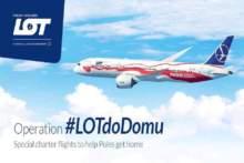 Dodatkowe specjalne loty z Francji do Warszawy #LotDoDomu