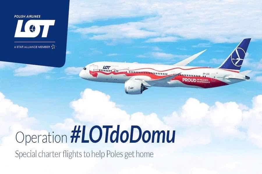 Dodatkowe dwa specjalne loty z Paryża do Warszawy #LotDoDomu