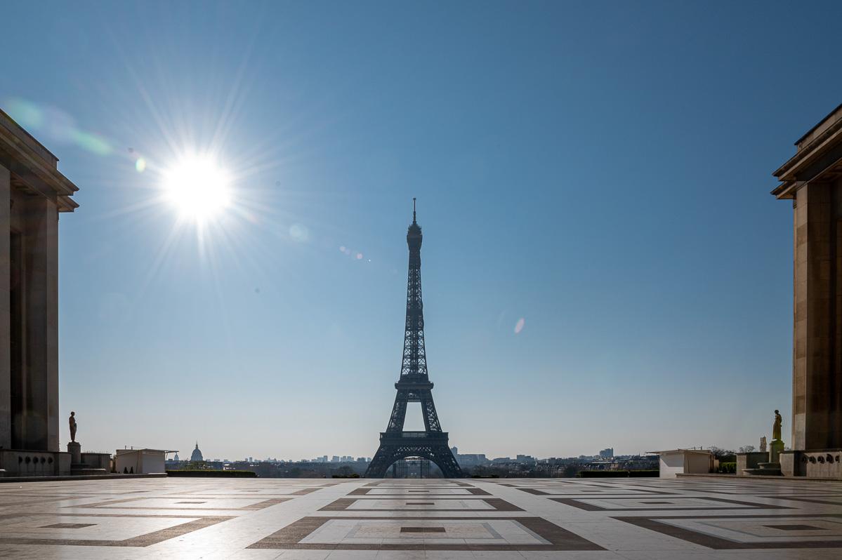Paryż podczas kwarantanny