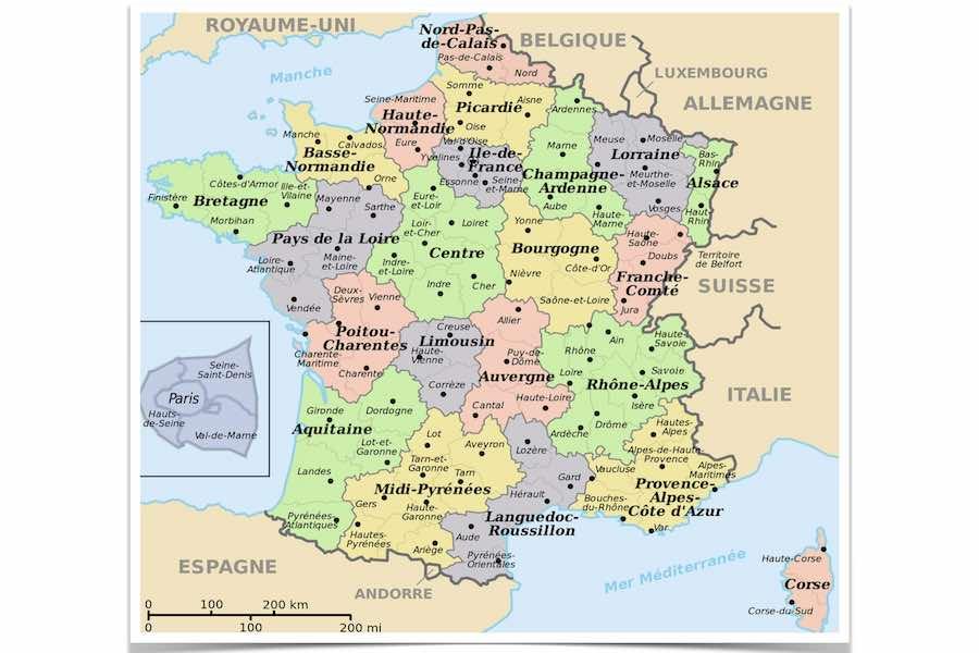 Gdzie obowiązuje już nakaz noszenia maseczek w otwartej przestrzeni publicznej we Francji?