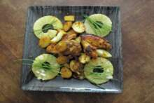 Ananas i kurczak