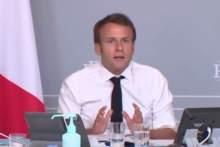 """Emmanuel Macron o godzinie policyjnej: """"Trzeba wytrzymać jeszcze 4 do 6 tygodni"""
